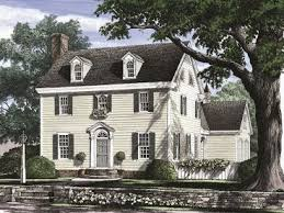 Cape Cod House Plans   The House Plan ShopColonial House Plan  H