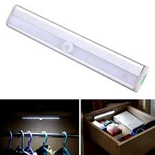 diy portable 10 led wireless motion sensing closet cabinet led night light stairs light cabinet lighting 10 diy easy