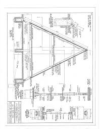 Free A Frame Cabin Plans Blueprints Construction Documents   SDS Plans      A Frame Cabin Plans