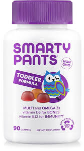 SmartyPants | <b>Toddler</b> Formula | FREE 1-3 Day Delivery