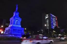 <b>World Landmarks</b> Light Up To Honor <b>Paris</b> Terror Victims