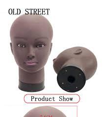 Afro <b>Bald Mannequin Head</b> Black Female Manikin Mode ...