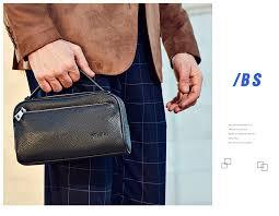 BISON DENIM Genuine Leather <b>Men Wallet</b> With Coin Pocket Long ...