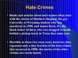 hate crime essaysan introduction to hate crime   hate crimes     college essays
