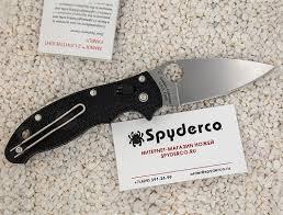 <b>Нож складной SPYDERCO MANIX</b> 2 C101PBK2 - купить по цене 9 ...