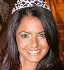 Tamara Fuchs, quando coroada Miss Fort Lauderdale - circulando3
