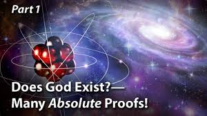 does god exist many absolute proofs part