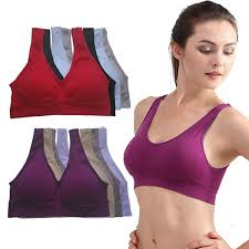 New Women <b>Sexy Bra</b> Seamless Vest <b>Bra</b> Tops No Rims Adjustable ...