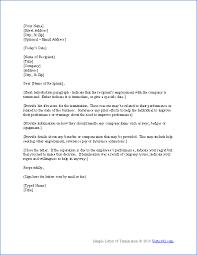 free termination letter template sample letter of termination employment termination letter template business agreement sample letter