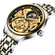 Aokulasic 1923 Mechanical Watch with Stainless Steel Strap ...