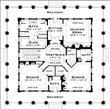 Classical Style House Plan   Beds   Baths Sq Ft Plan     Classical Style House Plan   Beds   Baths Sq Ft Plan