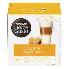 Купить <b>Капсулы NESCAFE</b> DOLCE GUSTO <b>Latte Macchiato</b>, 8+8шт ...