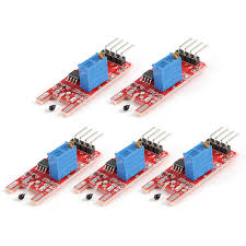 <b>5pcs</b> KY-028 Digital Temperature Thermistor <b>Thermal Sensor</b> ...