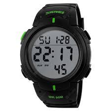 <b>SKMEI Outdoor Sports</b> Men <b>Running</b> Big Dial Digital Chronograph ...