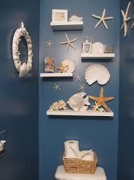 sea themed bathroom decoration chic