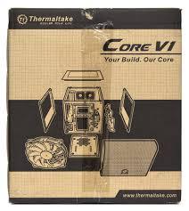 Обзор <b>корпуса Thermaltake</b> Core V1 / Overclockers.ua