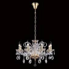 Подвесная <b>люстра Crystal Lux Ice</b> New SP8 — купить в интернет ...