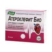 <b>Атероклефит Био капс</b>. 250мг №<b>30</b> 88623 (Эвалар) по доступной ...