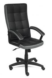 <b>Кресло TRENDY</b> кож/зам/<b>ткань</b>, черный/серый, 36-6/12