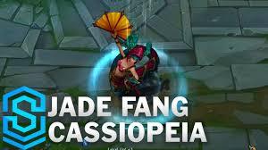 <b>Jade Fang Cassiopeia</b> Skin Spotlight - League of Legends - YouTube