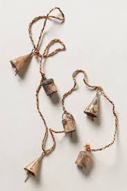 Jingle Bell Garland 194 Best Bells Chimes Images On Pinterest Leveon Bell Wind