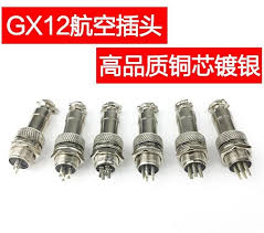"5Set=<b>10pcs</b>/lot 7/16"" <b>GX12 Aviation</b> Circular Connector 2 Pin 3pin ..."