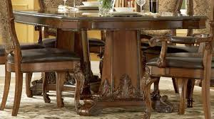 Old World Dining Room Furniture Art Old World Double Pedestal Dining Table In Cherry Table