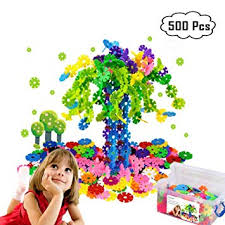 Zzurcca 500 Pieces Block <b>Toy Creative</b> and Educational <b>Building</b> ...