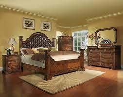 pc bedroom set teak bed