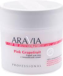 ARAVIA Organic <b>Скраб для тела</b> с гималайской солью <b>Pink</b> ...