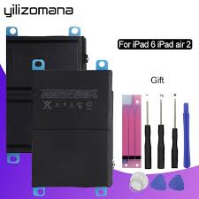 <b>YILIZOMANA</b> Original Tablet Battery For Apple <b>iPad</b> 6 <b>iPad Air</b> 2 ...