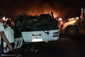Image result for تصادف امروز محور کرج چالوس