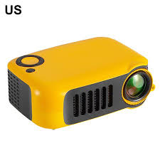 A2000 Mini LCD Projector <b>LED Entertainment</b> Portable Projection ...