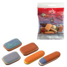 Купить <b>Набор ластиков KOH</b>-I-<b>NOOR</b> 9 шт., цвет и форма ...