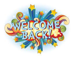 Image result for Welcome Back Clip art