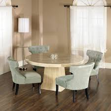 Tufted Dining Room Sets Best Granite Top Round Dining Table Mesmerizing Dining Room