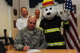 423rd abg launches fire prevention week > 501st combat support 423rd abg launches fire prevention week