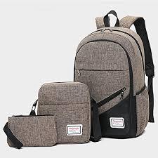 Generic <b>3pcs</b>/<b>set</b> Boys Girl <b>School Bags</b> Backpack for Teenagers ...
