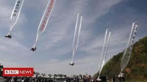 South Korean <b>balloons</b>: Plans to stop people sending cross-border ...