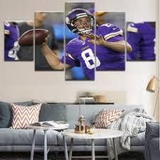 <b>5</b> Pieces Canvas Football Player Poster Sports For Modern <b>HD</b> ...