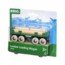<b>Вагон с бревнами BRIO</b> 33696 купить в Минске, цена