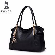<b>FOXER Brand Women Genuine</b> Leather Bag Handbags Fashion ...