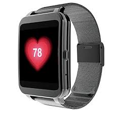 i95 men smart watch wifi android stainless steel band wrist i95 men smart watch wifi android stainless steel
