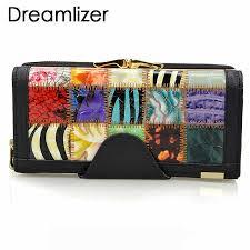 <b>Dreamlizer</b> 3 Fold Fashion <b>Genuine Leather</b> Women Wallets ...