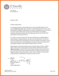 5 how to write a letter of recommendation for college appeal how to write a letter of recommendation for college letter benjamin randle dyouville college jpg resize 800%2c1035