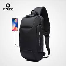 OZUKO <b>2019 New</b> Multifunction Crossbody Bag <b>Shoulder bag</b> Male ...