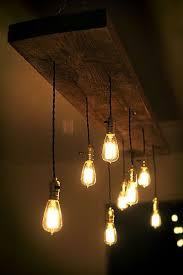 room creative hanging bulb lighting ideas