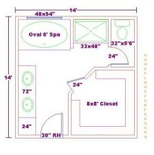 bathroom remodel layout plans free