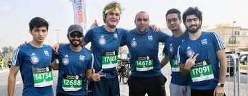 professional certificate in office administration secretarial university of dubai participates in dubai marathon 2017