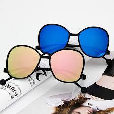<b>Comfortable</b> For Women <b>Round Personality</b> Sunglasses <b>Fashion</b> ...